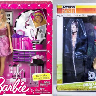 Barbie ja Action Man –näyttely vai mainos?
