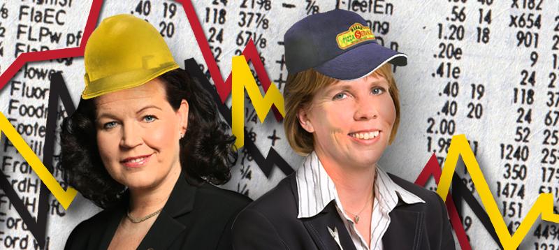 Vuonna 2011 Anne Holmlund (kok) ja Anna-Maja Henriksson (rkp) rehkivät. He eivät olleet ainoita eivätkä jääneet viimeisiksi niissä hommissa. Nyt niitetään kypsää viljaa.
