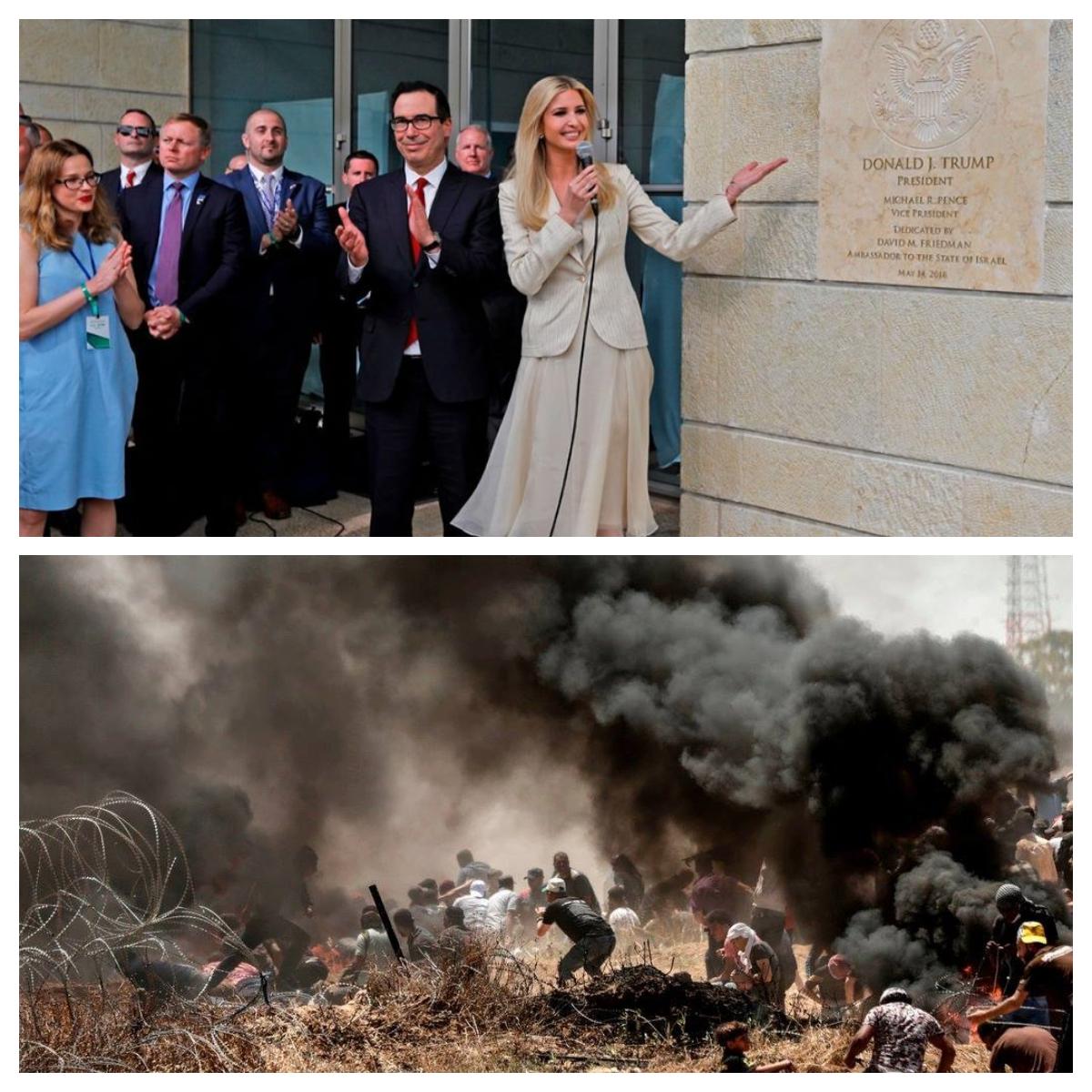 Kaksi kuvaa todellisuudesta.
