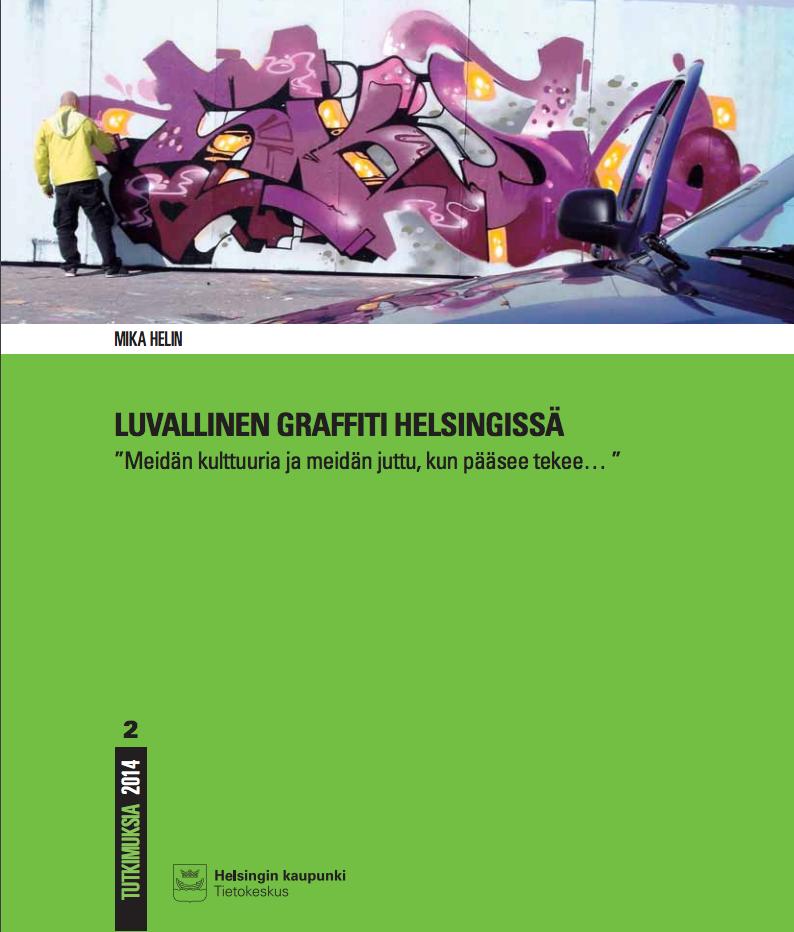 Paljon on tapahtunut Stop töhryille -projektin jälkeen. Vuonna 2014 oli vähintäänkin mullistavaa, että Helsingin kaupunki julkaisi graffititutkimusta. Vuonna 2017 ollaankin tilauksessa, jossa useissa kaupunginosissa on käynnissä mittavia katutaideteosten maalausprojekteja. Lue koko tutkimus täällä.