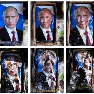 Putin hajoaa