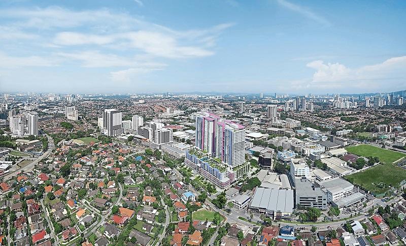 Aznitan kotikaupunki Petaling Jaya on yli 600 000 asukkaan kaupunki Kuala Lumpurin kyljessä. Se on kehittynyt nopeasti yhdeksi Malesian tärkeimmistä kaupungeista. Kuvan lähde: starproperty.com.my