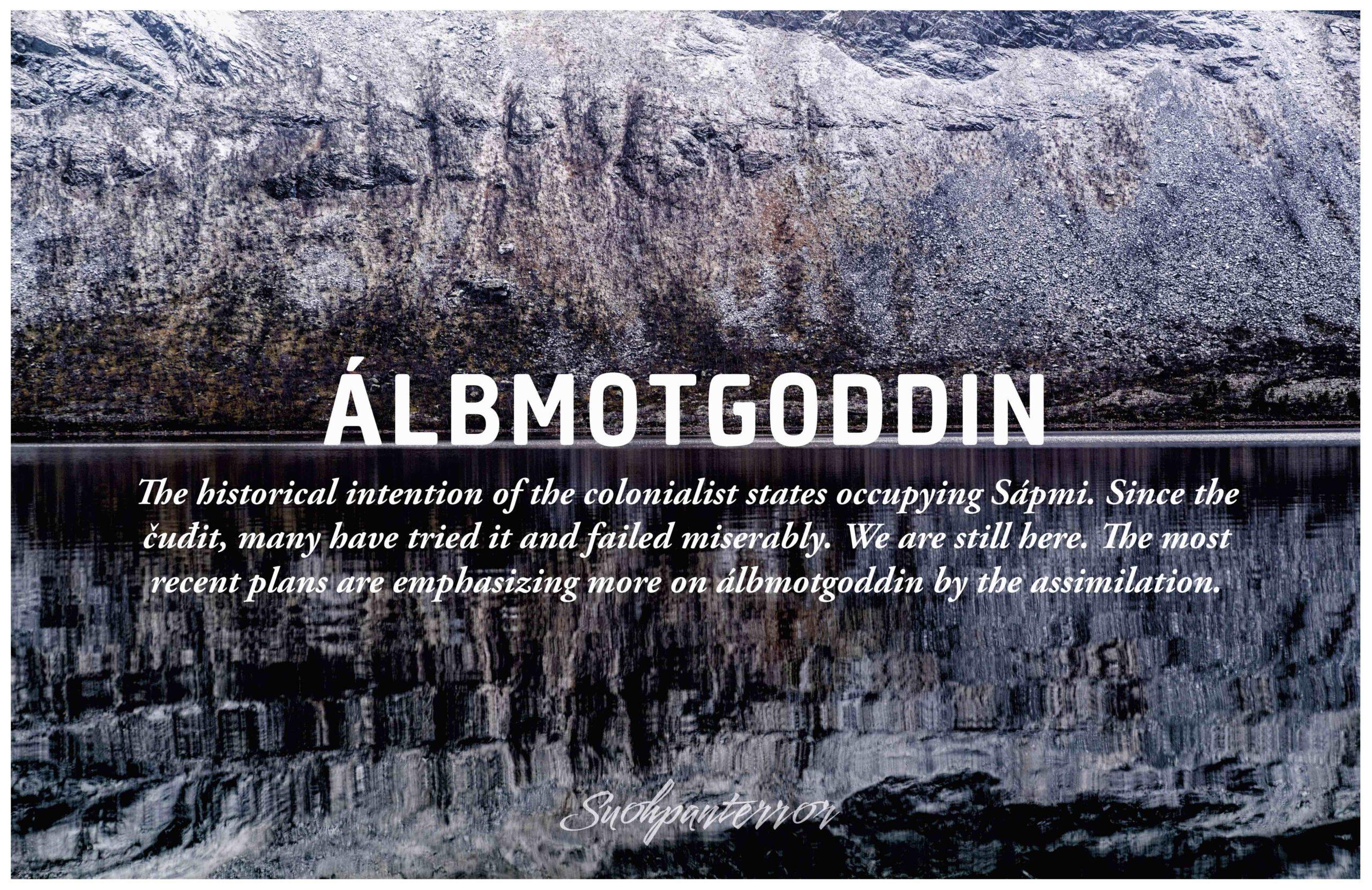 Sanoissa on voimaa. Suohpanterror tuotti sarjan teoksia, jotka yhdistävät luontokuvauksen ja koulujen opetustaulut. Teoksissa on kirjoitettuna saamenkielinen sana, joka on selitetty saamenkielentaidottomalle katsojalle.
