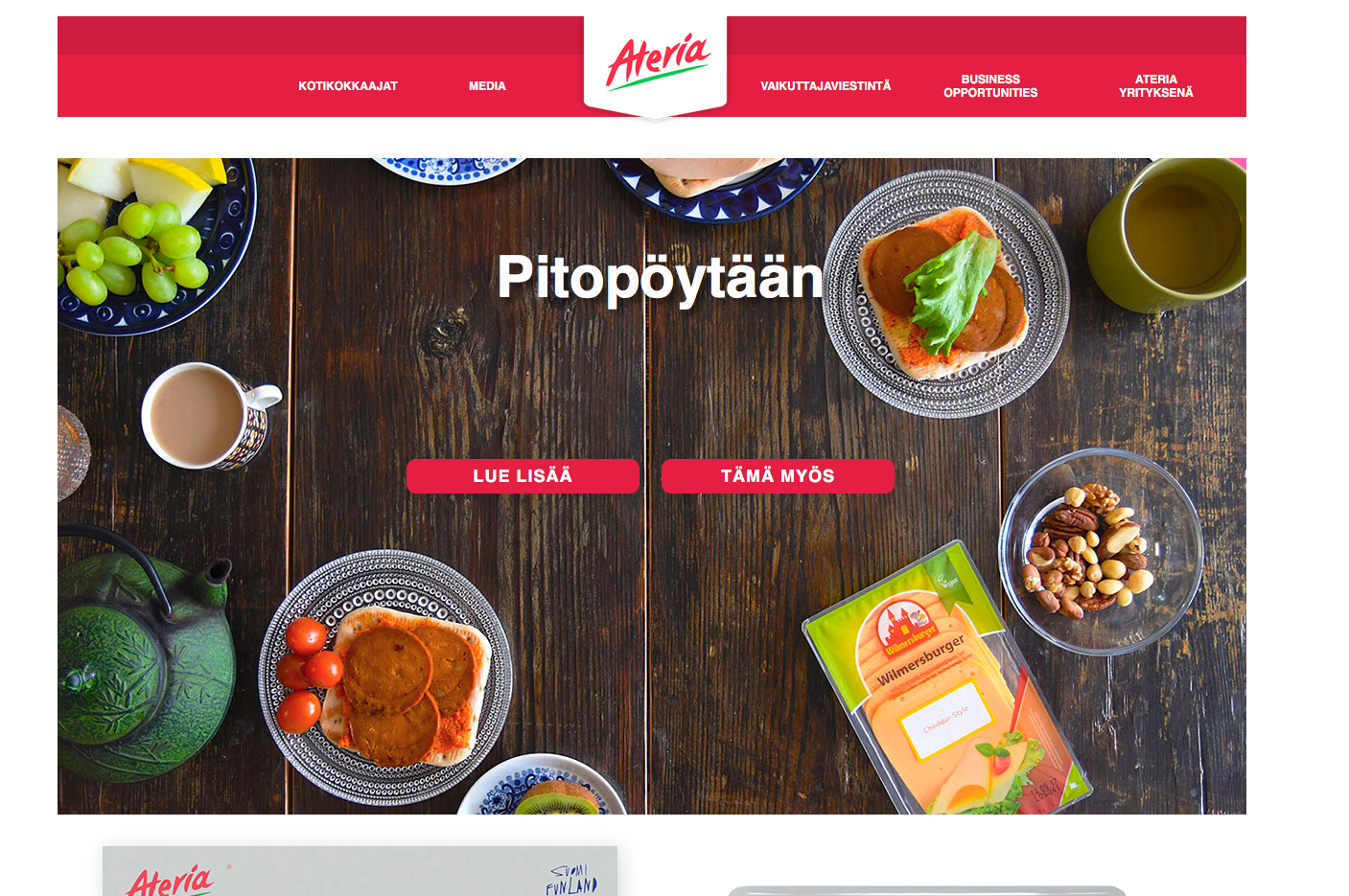 Häiriköiden ruokainnovaatiot levisivät internetin tietoverkkoihin saakka. osoitteesta www.ateriainnovaatiot.fi voit käydä lukemassa lisää aiheesta.