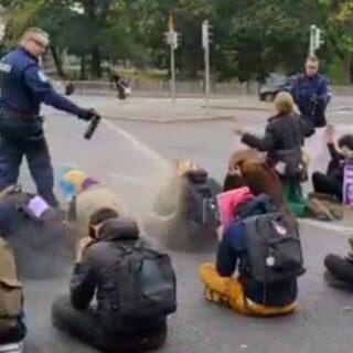Poliisin tarpeetonta väkivaltaa Helsingissä