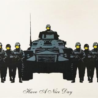 Banksy kaapattiin museoon, ja hyvä niin