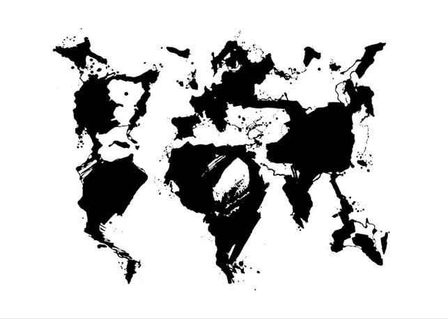 Egs: Atlas. Muste paperille