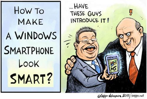 Älypuhelimen väläys