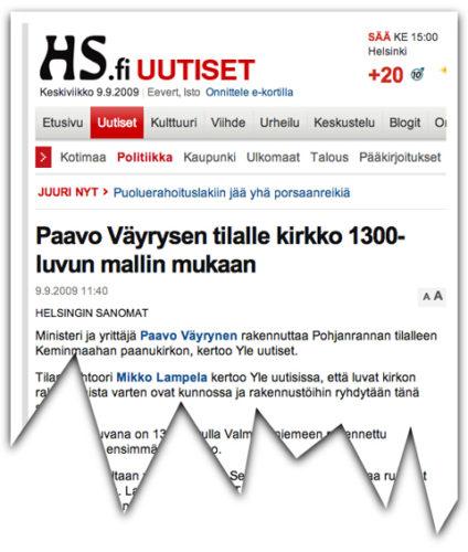 Mitä Paavo Väyrysen tilalle?