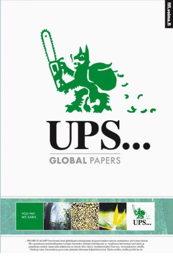 Ups...Global Papers