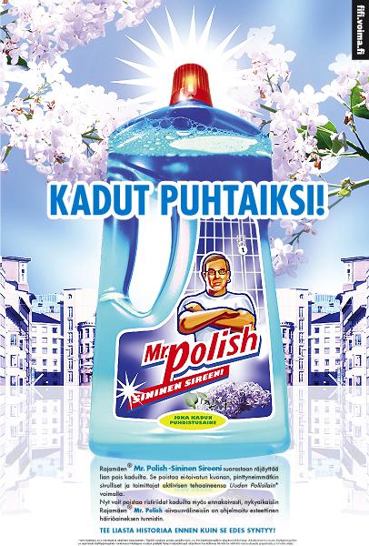 Mr.Polish – Kadut puhtaiksi 2.