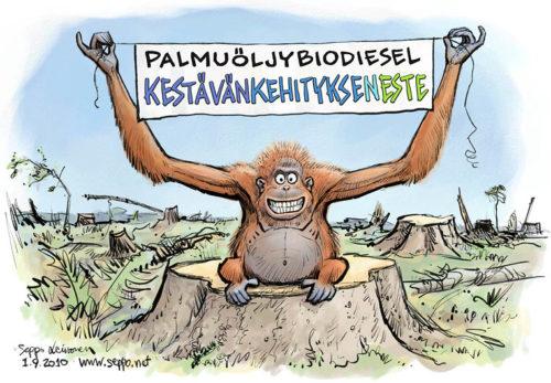 Palmuöljydieselin kirous