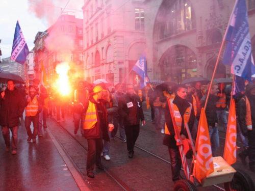 Ranskan yleislakossa karnevaalin tuntua