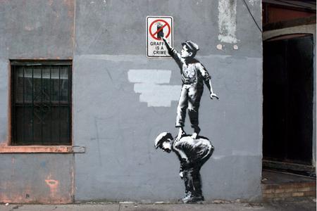 Banksy valtasi Nykin