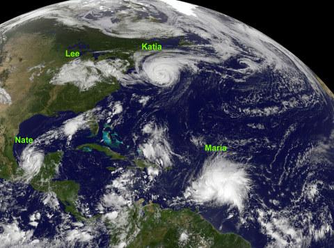 Vuoden hurrikaanit