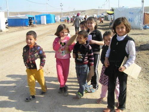 Lähtisitkö vapaaehtoiseksi auttamaan syyrialaisia lapsia?
