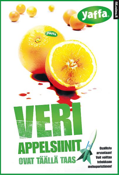 Yaffa-veriappelsiinit