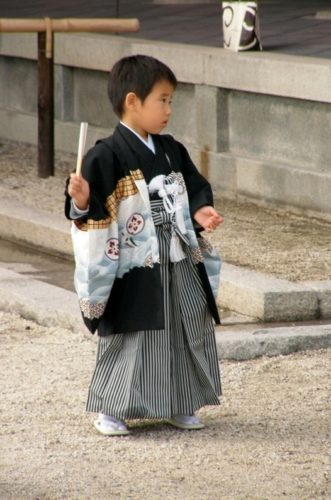 Pikkulapsena Japanissa