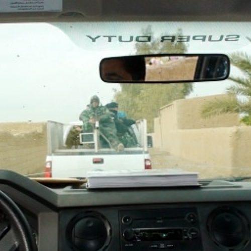 Poliisimurha Irakissa