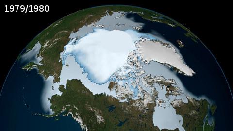 Meren & maan taantuvat talvijäät