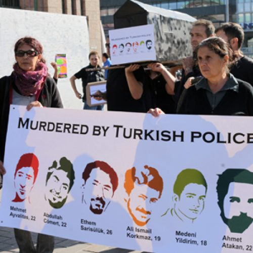 Poliisiväkivalta kovenee Turkissa
