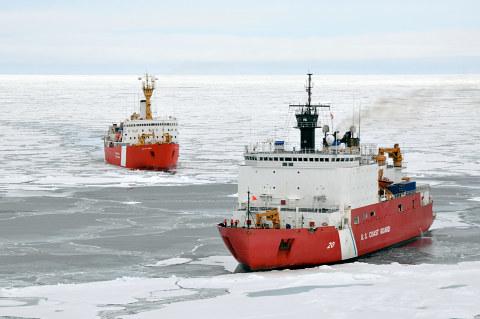 Meritie tulee, talvitie menee