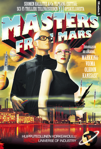 Masters from mars