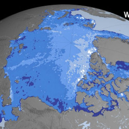 Pohjoinen jäämeri sulaa