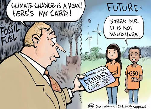 A climate hoax