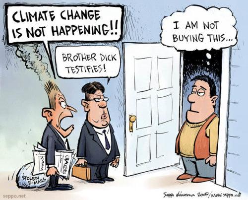 Vaikka ilmastokin on kaupan...