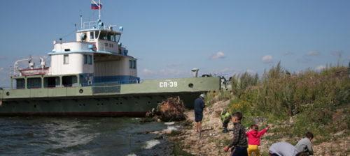 Moskovan kaavailut tulvivat yli Volgalla