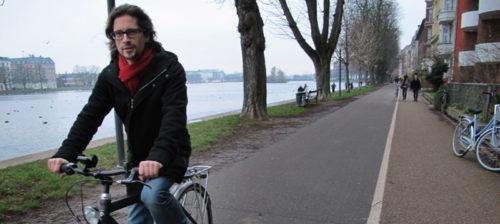 Pohjoismaiden kirjeenvaihtaja pyöräilee 20 kilometriä päivässä