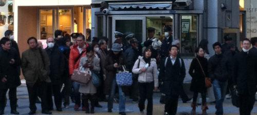Perusturvallisuuskin huojuu Japanissa
