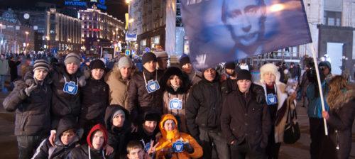 Putin juhlii syytöksistä huolimatta
