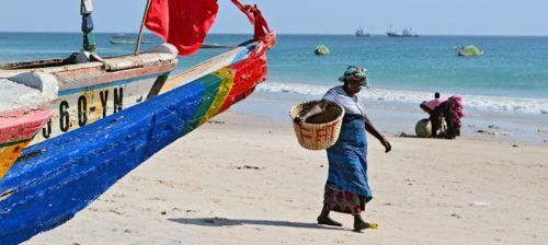 Pienkalastajat voittivat Senegalissa