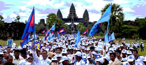 Kambodža odottaa kevättään