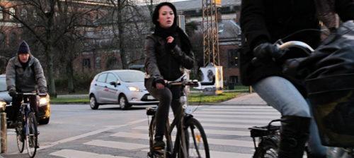 Pohjolan pyöräkaupunki rullaa täysillä joulukuussakin