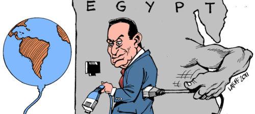 Egyptin tiedonvälitystä ei ole saatu nujerrettua