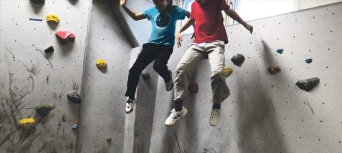 Hypitkö seinille?