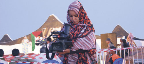Filmikoulu pakolaisleirissä