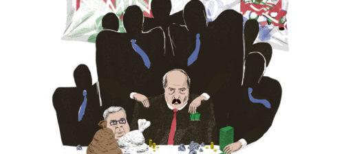 Lukašenkan verinen kiakkosirkus