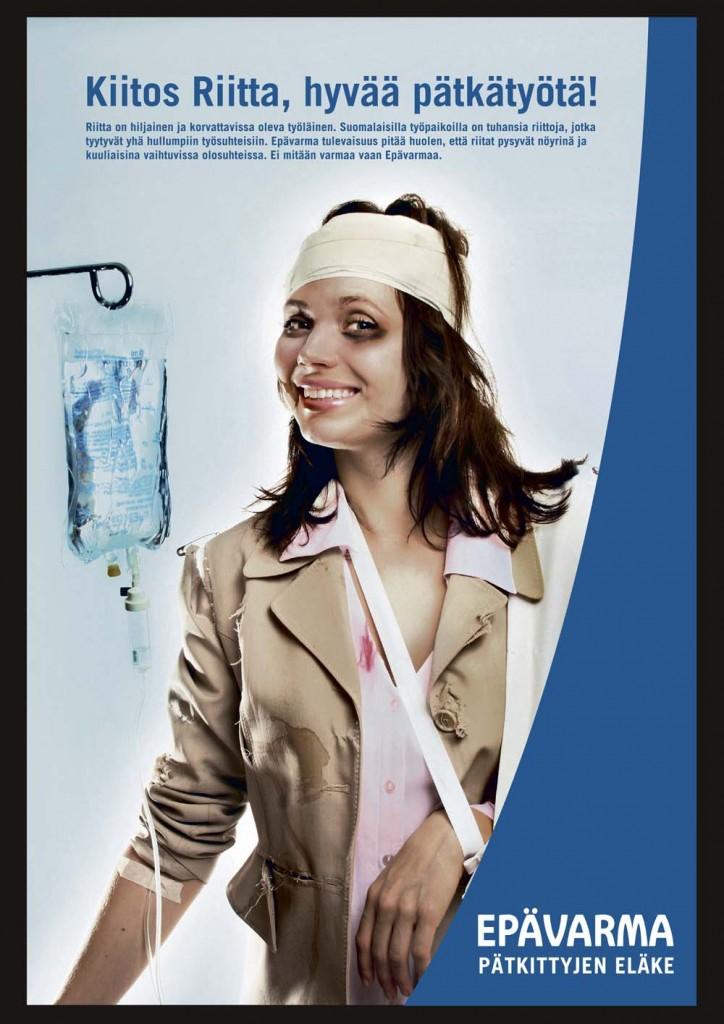 Epävarma - Pätkittyjen eläke. 9/2006
