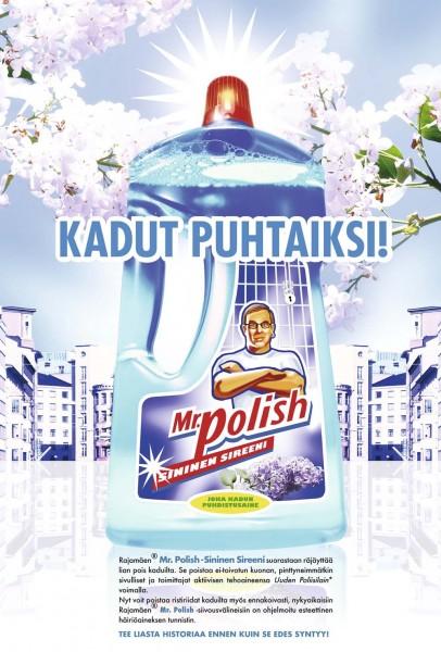 Mr. Polish - Kadut puhtaiksi. 8/2006