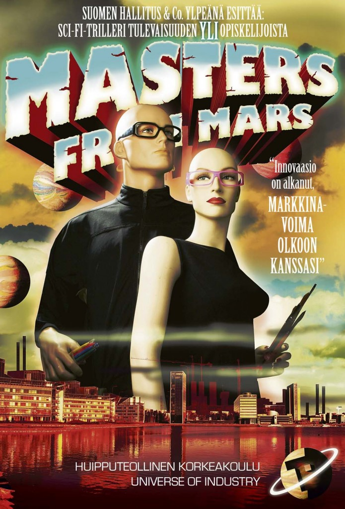 Masters From Mars. 4/2007
