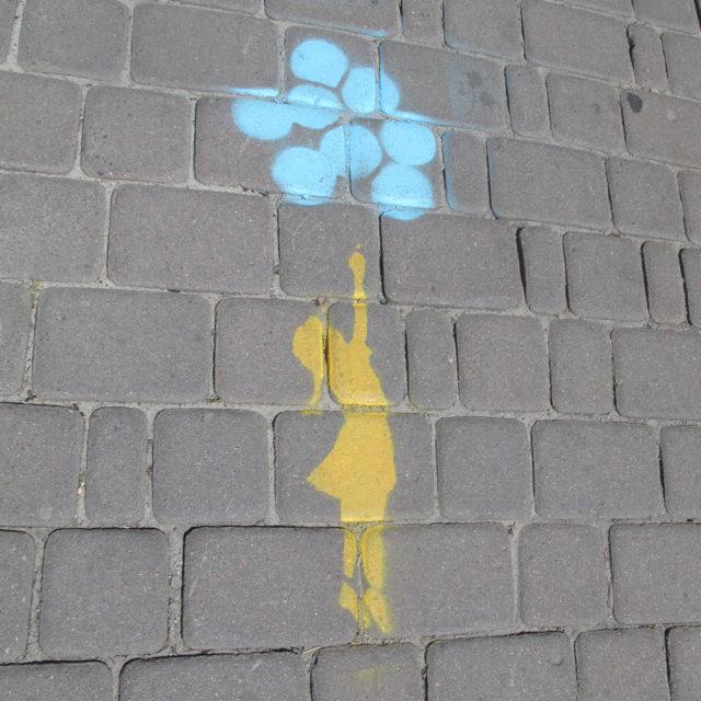 Lyhtypylväitä  Ukrainan usvaan