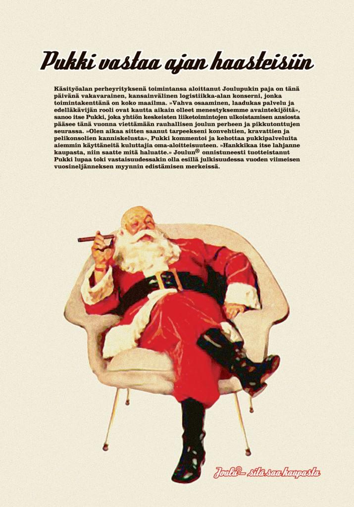 Joulu - Sitä saa kaupasta. 10/2002