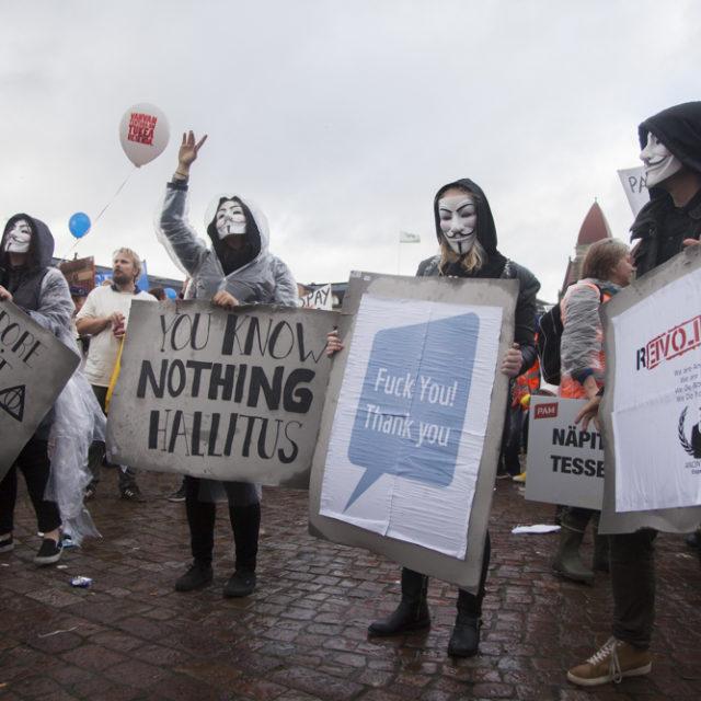 STOP -mielenosoitus 18.9.