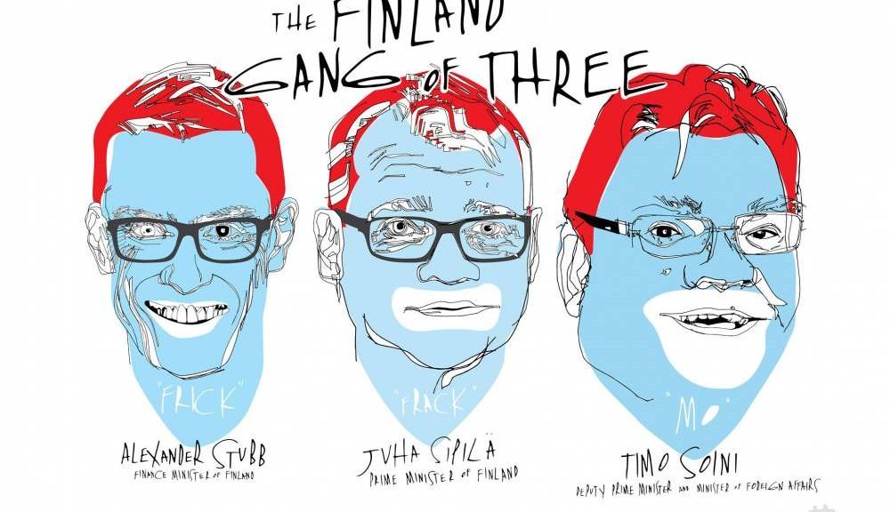 Gang of three, Caris