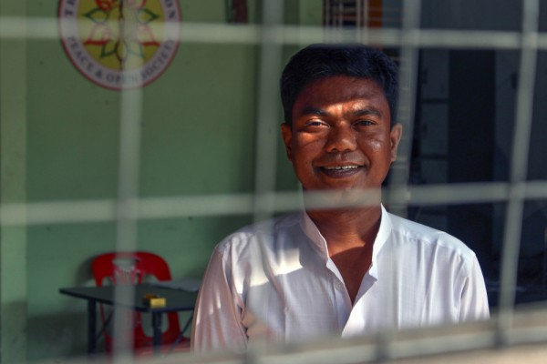 Chitmin Lay vangittiin lähes 14 vuodeksi, koska hän osallistui opiskelijamielenosoituksiin vuonna 1996.