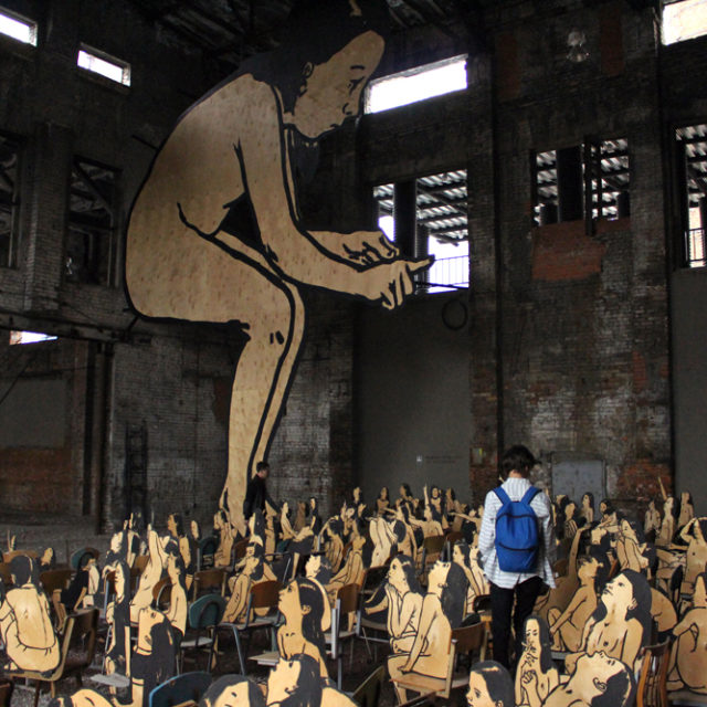 Taidetta tehtaassa